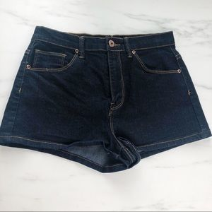 Forever 21 Dark Wash Jean Shorts Size 27